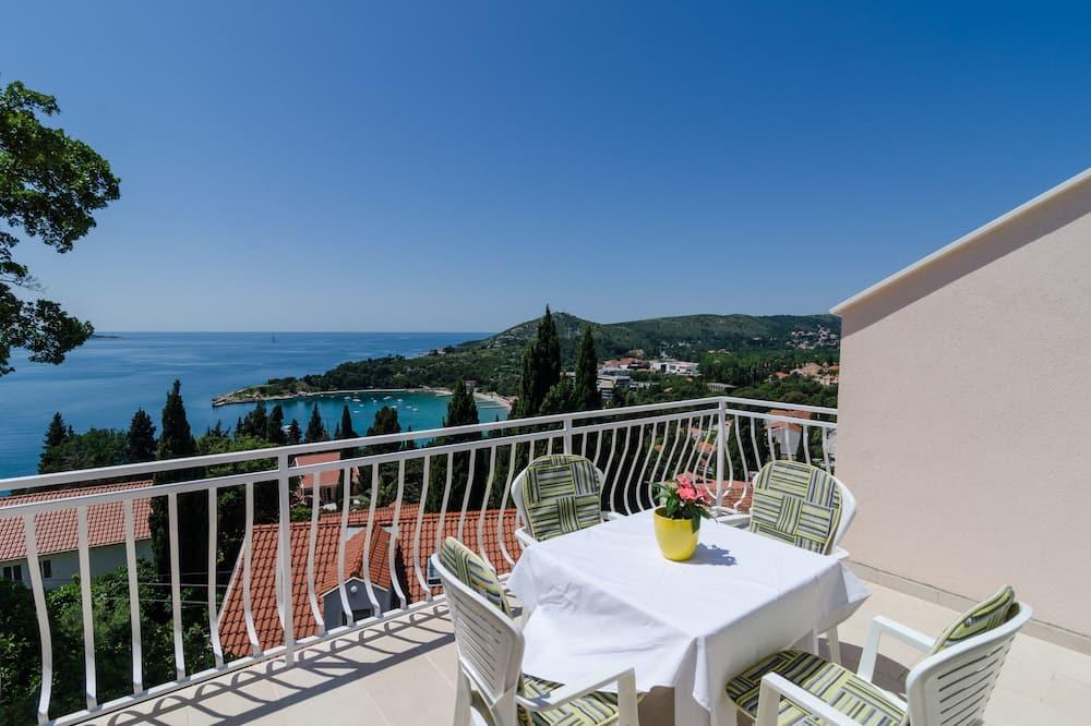 Deluxe Apartment, 1 Bedroom, Balcony, Sea View - Balcony