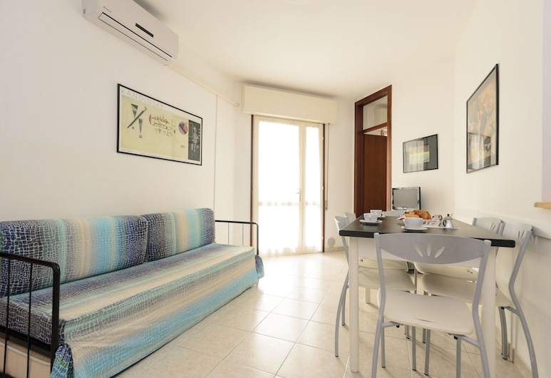 Residence Rubin, Lignano Sabbiadoro, Departamento, 2 habitaciones (I), Sala de estar