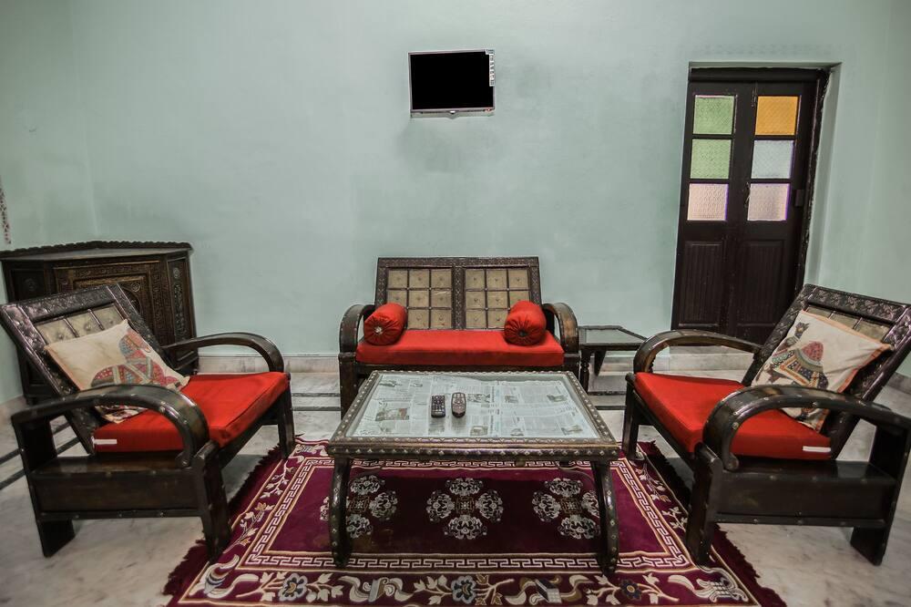 Izba typu Deluxe s dvojlôžkom alebo oddelenými lôžkami, 1 extra veľké dvojlôžko - Obývacie priestory