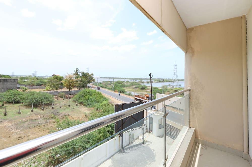 Habitación con 1 cama doble o 2 individuales, 1 cama King size - Balcón