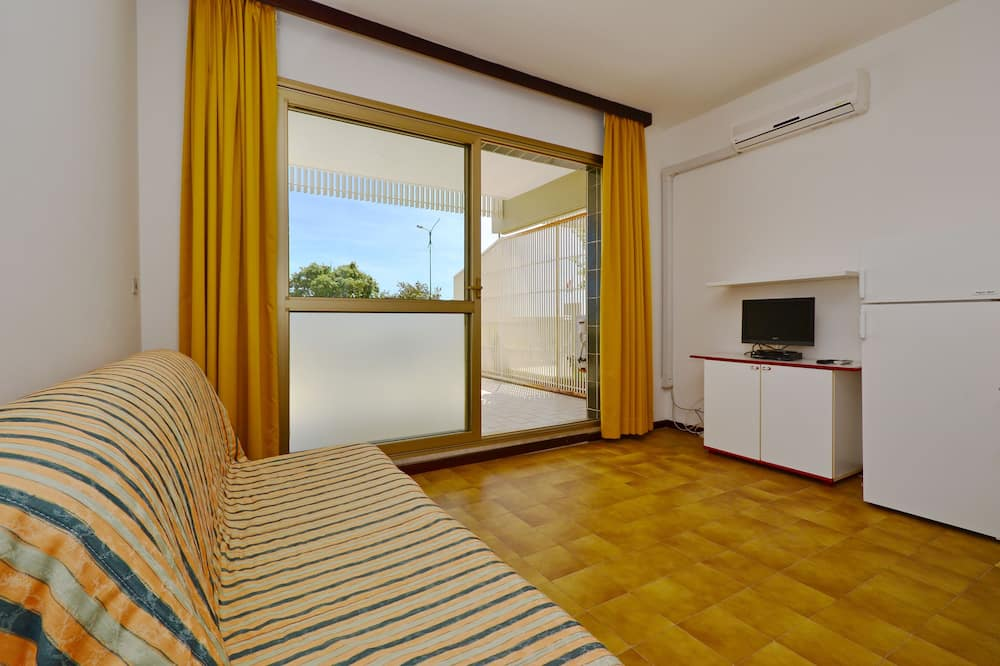 Apartamentai, 1 miegamasis (B) - Svetainės zona