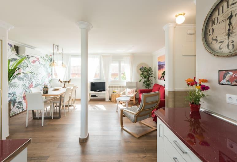 Apartamento Portalegre, Madrid, Lägenhet - 4 sovrum, Vardagsrum