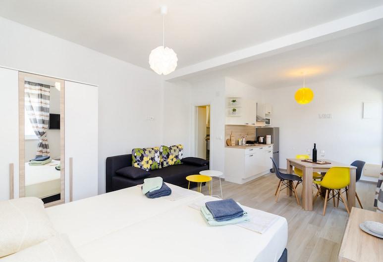 ABC Apartments, Dubrovnik, Estúdio, Quarto