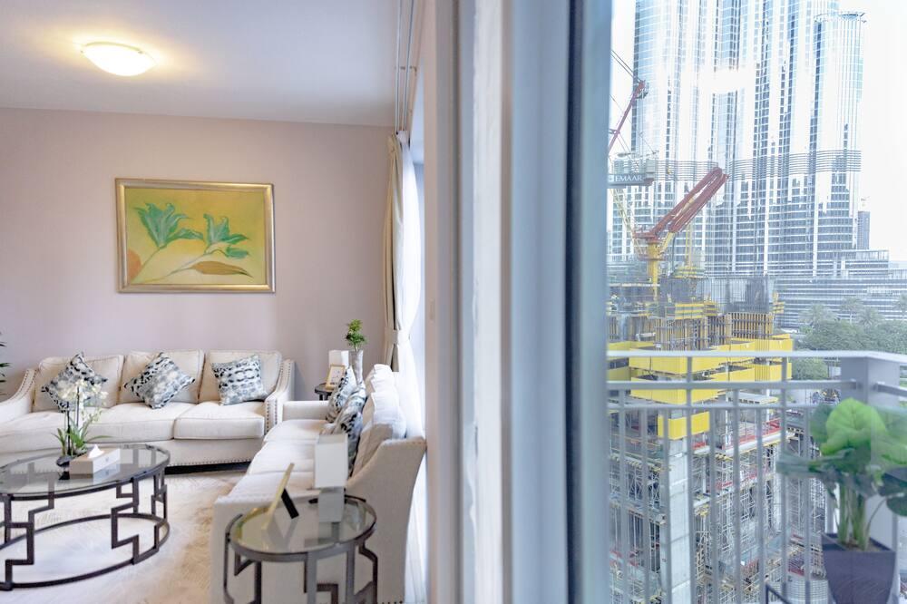 Comfort Apartment, 3 Bedrooms - Ruang Tamu