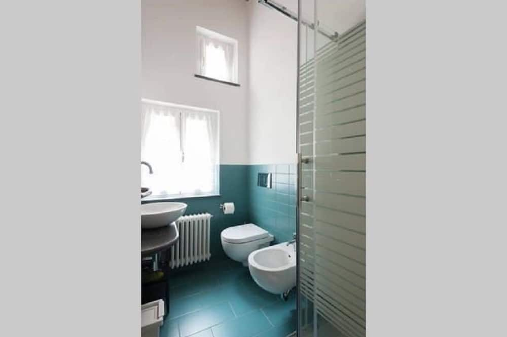 Двомісний номер «Делюкс», з балконом, з видом на море - Ванна кімната