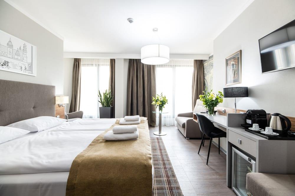 Deluxe-Doppel- oder -Zweibettzimmer, Nichtraucher - Wohnbereich