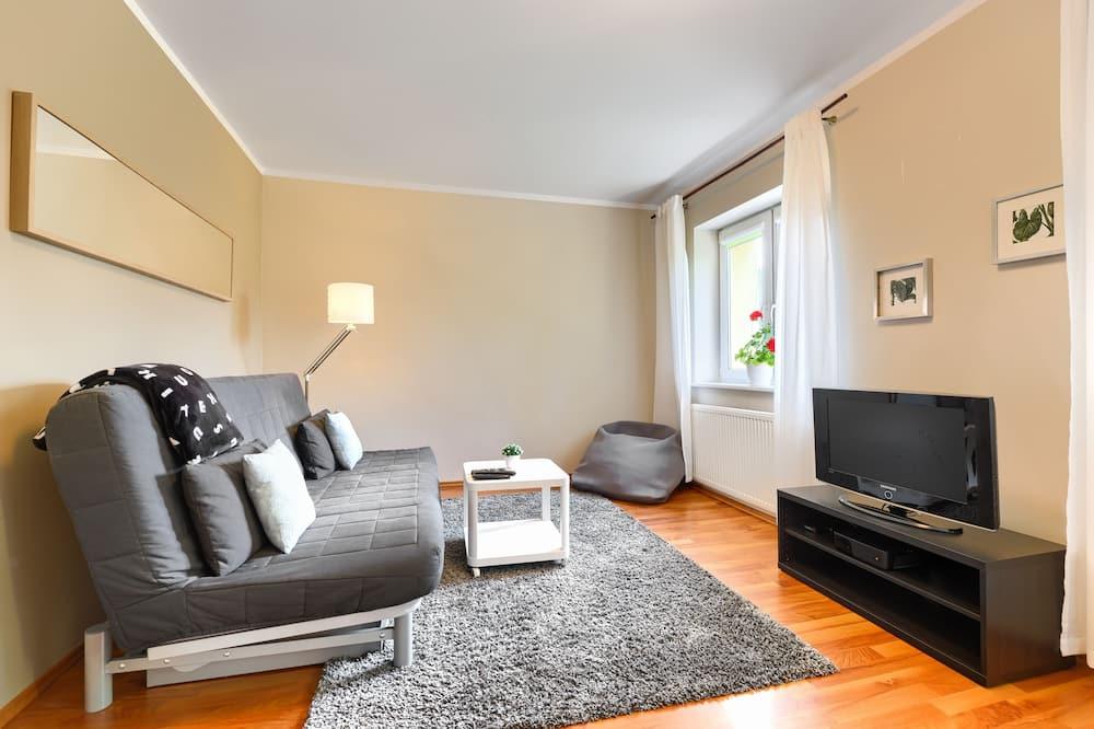 Ekonomiskās klases dzīvokļnumurs, vairākas gultas, nesmēķētājiem - Dzīvojamā zona