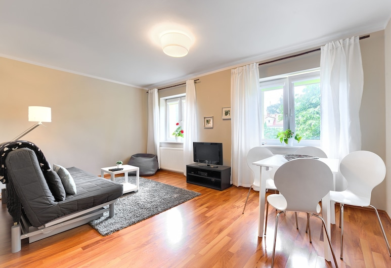 MARGI Plan B Apartament, Szczecin, Apartamento Económico, várias camas, Não-fumadores, Área de Estar