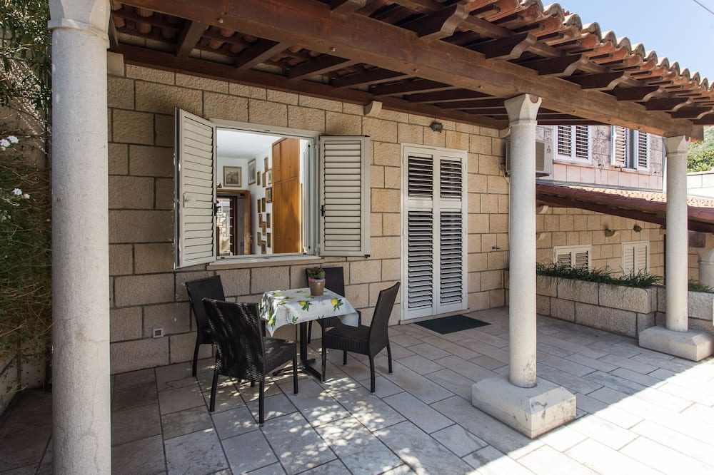 Apartamento, 1 quarto, Terraço - Terraço/pátio