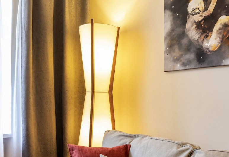 MARGI Nell Apartament, Szczecin, Appartement Supérieur, 1 lit double et 1 canapé-lit, non-fumeurs, Salle de séjour