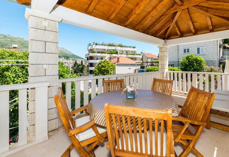 Apartments Vulicevic, Dubrovnik, Apartment Vulicevic A1 (free private parking), Varanda