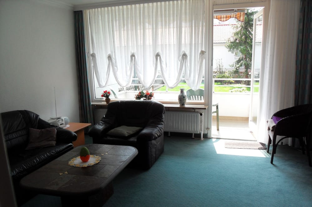 Apartment, 1 Queen Bed, Non Smoking, Mountain View - Living Room