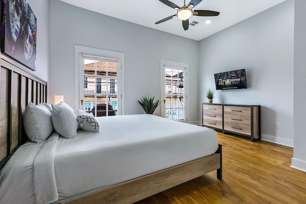 Luxe appartement, 4 slaapkamers, Balkon - Woonruimte