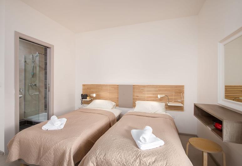 Island Guesthouse, Gzira, Quarto Duplo ou Twin, 1 cama king-size, Quarto