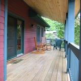 Casa de Campo Standard, várias camas, Não-fumadores (Cascade Cottage) - Terraço/Pátio Interior