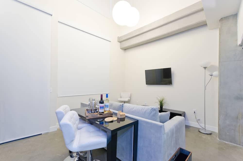 Superior-Suite, Mehrere Betten, Nichtraucher - Wohnzimmer