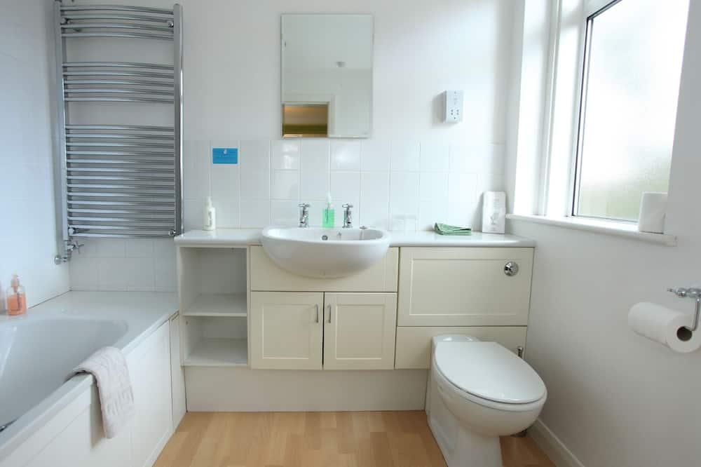 Zweibettzimmer, Nichtraucher, mit Bad - Badezimmer