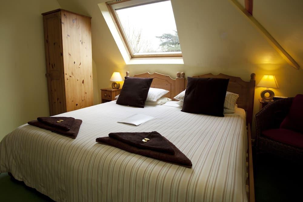 Doppelzimmer, 1King-Bett, Nichtraucher, mit Bad - Zimmer
