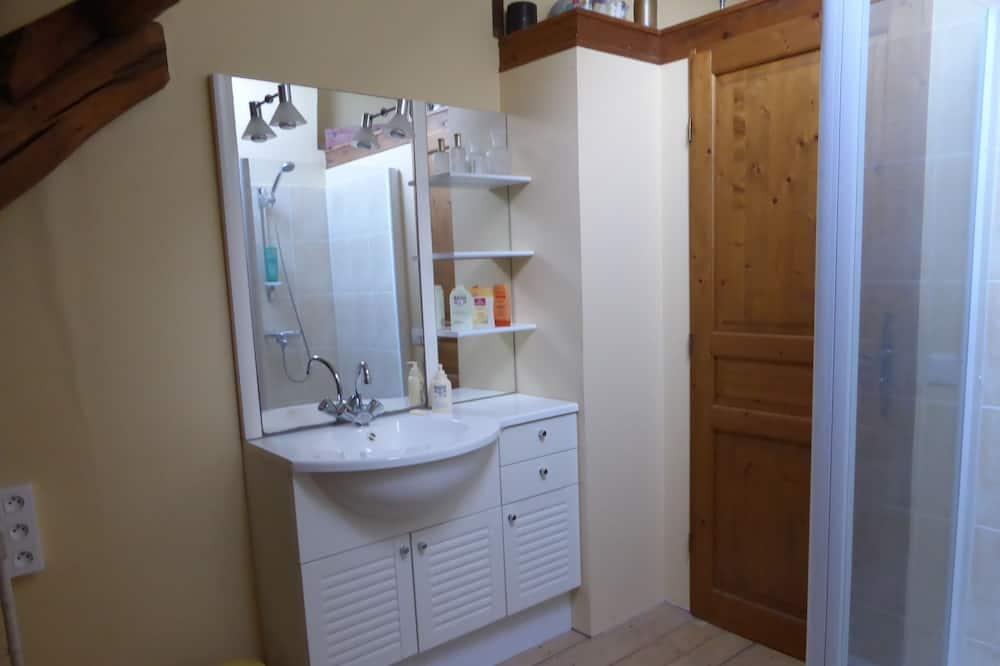 Double Room (Le Loft du Peintre) - Bathroom