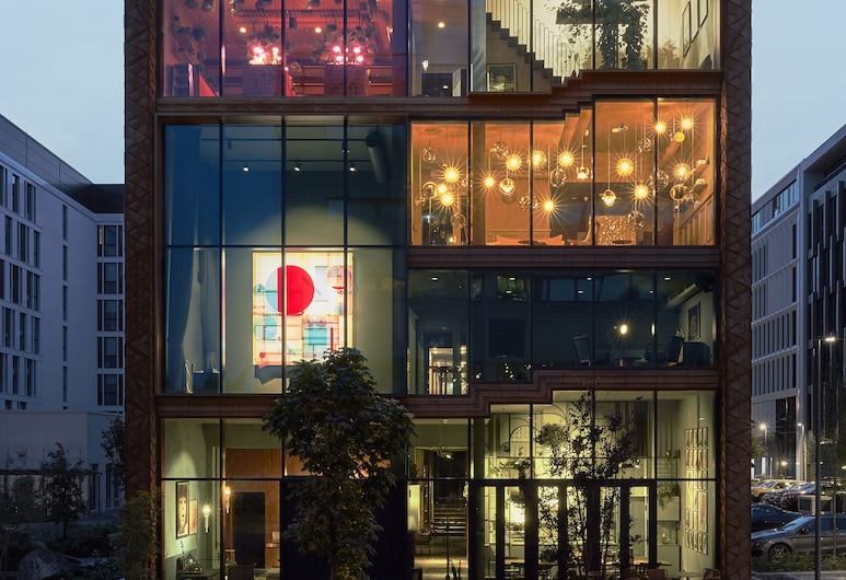 Lindley Lindenberg, Frankfurt, Hotellområde
