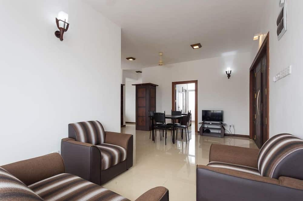 Apartmán, 3 ložnice, nekuřácký - Obývací pokoj