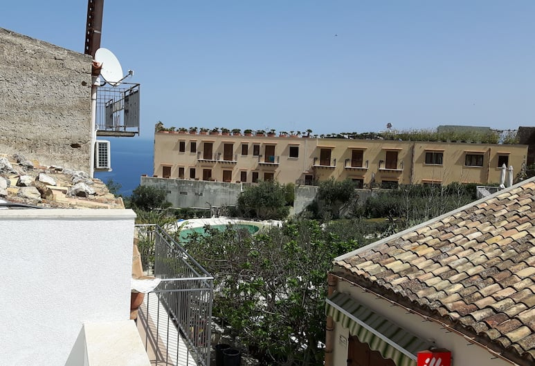 Borgo Holiday Home Scopello, Castellammare del Golfo, Comfort House, 1 Queen Bed with Sofa bed, Sea View, View from room