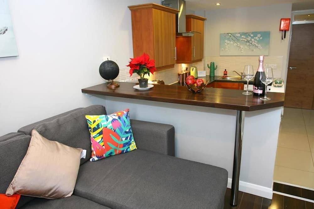 Pagerinto tipo apartamentai, 1 miegamasis (Max 3 People) - Vonios kambarys
