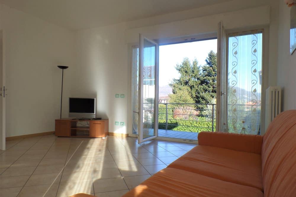 Apartman, 2 spavaće sobe, pogled na grad - Dnevni boravak
