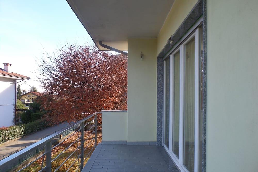 Apartman, 2 spavaće sobe, pogled na grad - Balkon