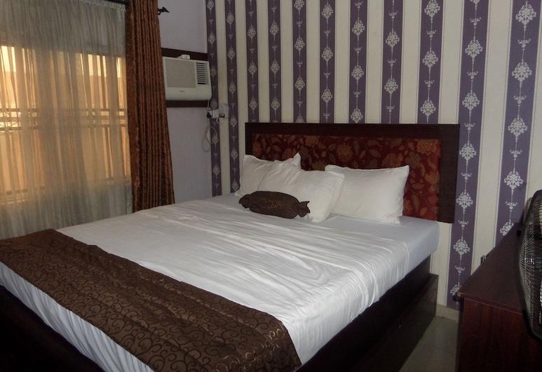查特威爾公寓飯店, 拉各斯, 豪華客房, 1 張加大雙人床, 非吸煙房, 客房