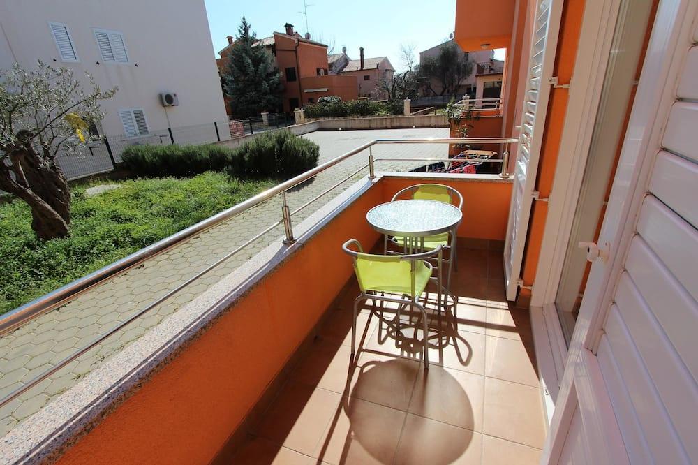 Dzīvokļnumurs, viena guļamistaba, pirmais stāvs - Balkons