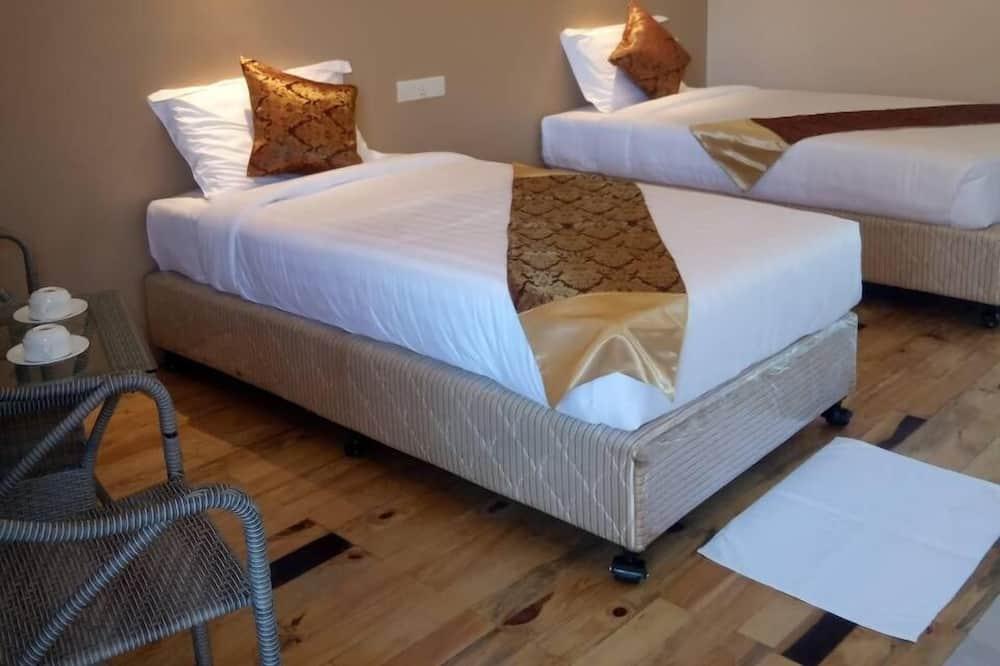 Quarto Duplo ou Twin Deluxe, 2 camas individuais, Não-fumadores, Vista Montanha - Quarto