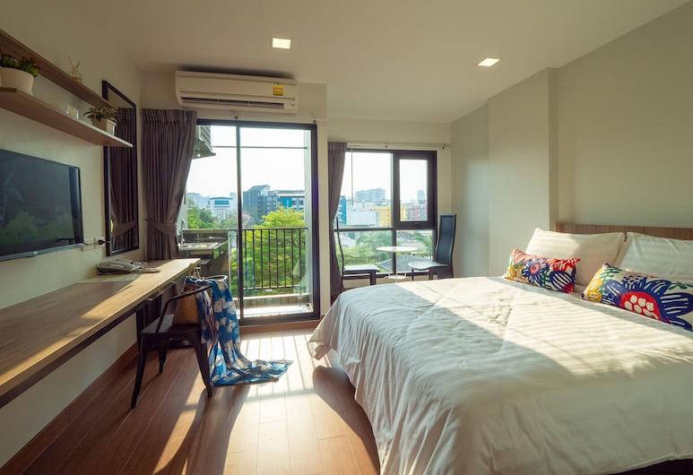 Casa Luxe Hotel and Resident, Bangkok, Pokój rodzinny, 2 łóżka queen, Pokój