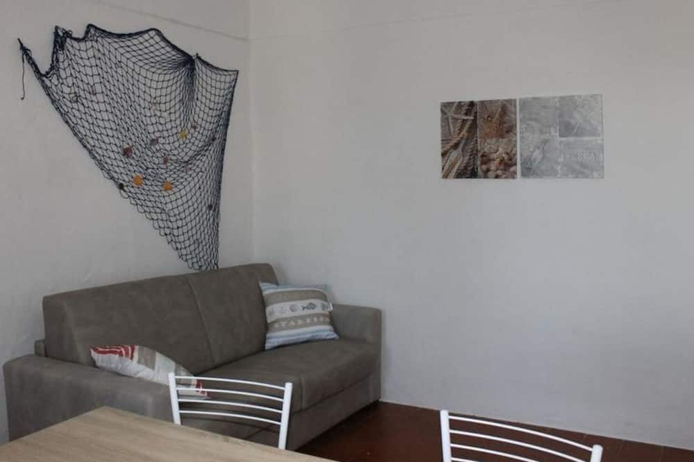 Apartment, 2 Bedrooms, Fireplace - Living Area