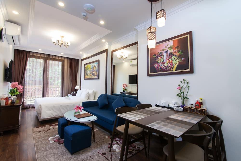 Suite Grand, balcón - Sala de estar