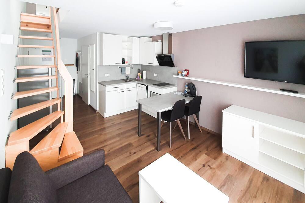 Apartment (Split Level) - Living Area