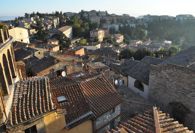 B&B 7 Baci, Perugia, Widok z hotelu