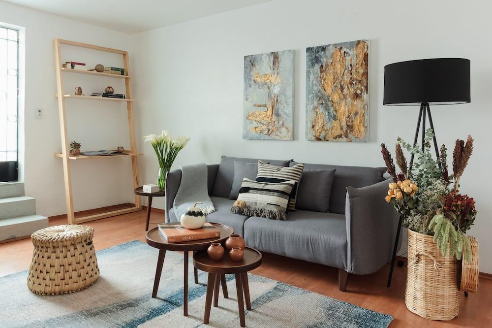Appartamento Classic, Letti multipli, non fumatori, vista cortile - Soggiorno