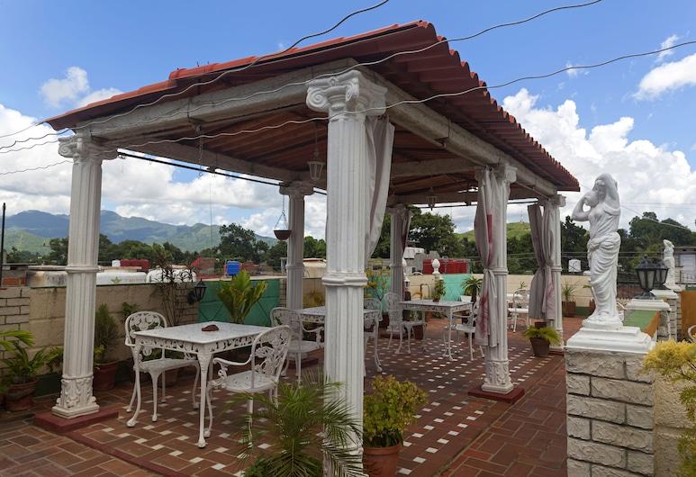 Hostal Jose y Kirenia, Trinidadas, Terasa / vidinis kiemas