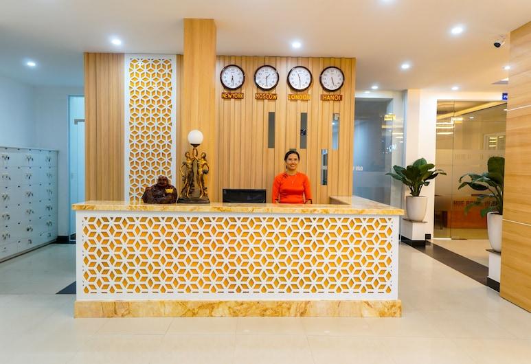 Hue Royal Hotel, Hue, Recepcia