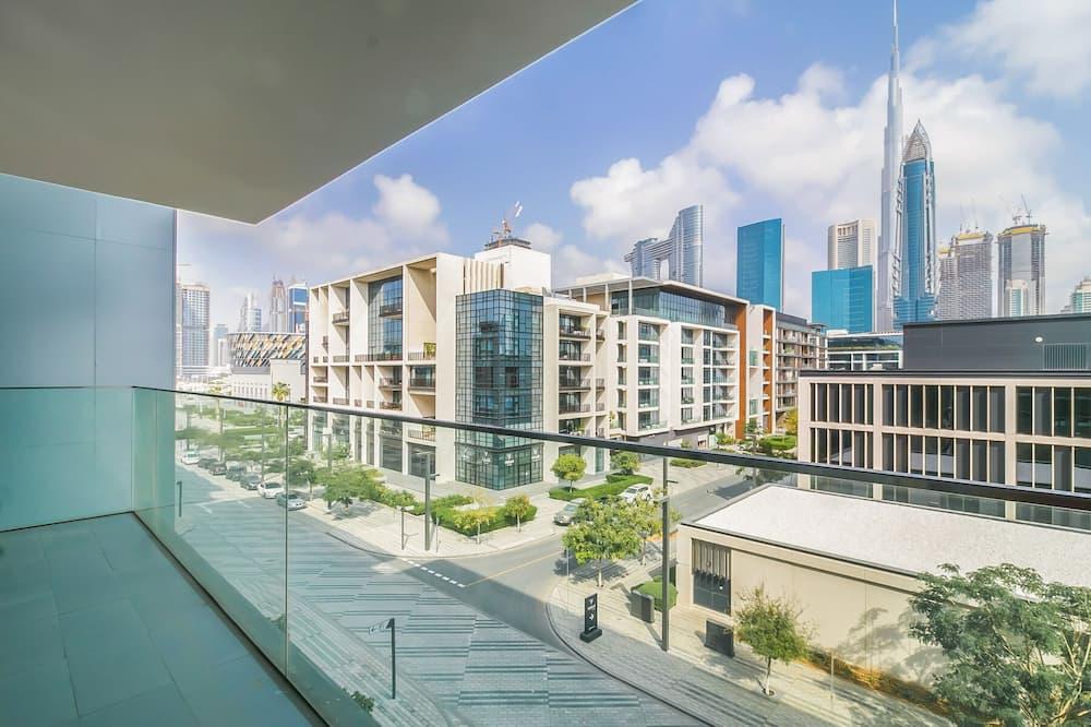 Deluxe Apartment, 3 Bedrooms, City View - Balcony