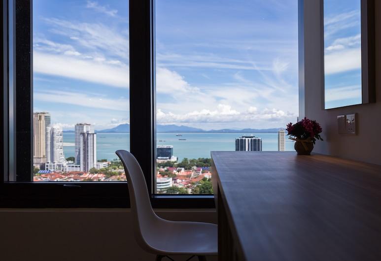 Tropicana 218 Macalister, George Town, Luxusný štúdiový apartmán, výhľad na more (A-26-12), Izba