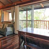 Comfort-Ferienhütte, 2Schlafzimmer, Talblick - Wohnbereich