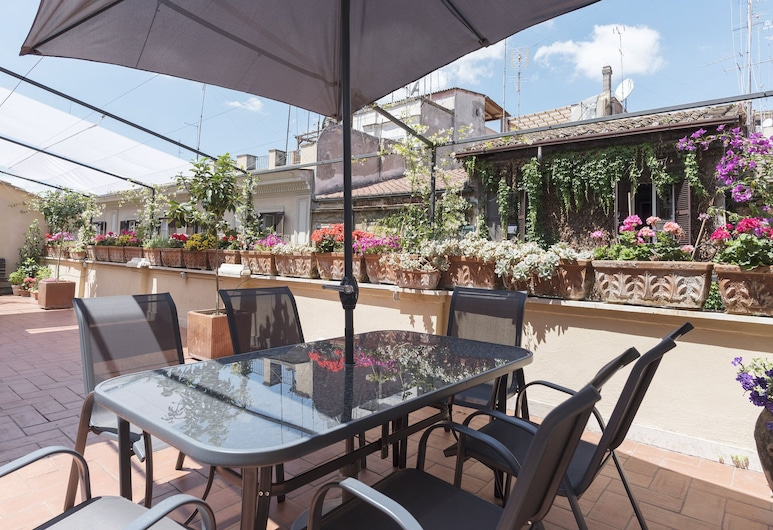 Monti Stairway to Heaven, Rome, Apartment, 3 Bedrooms, Terrace/Patio