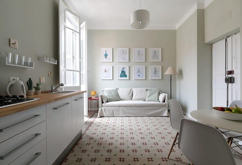 Vatican Stylish Apartment, Rim, Apartman, 1 spavaća soba, Dnevni boravak
