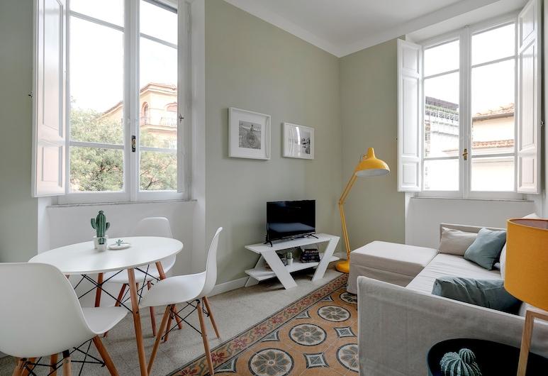 Vatican Sweet Suite, Rome, Appartement, 1 slaapkamer, Woonkamer