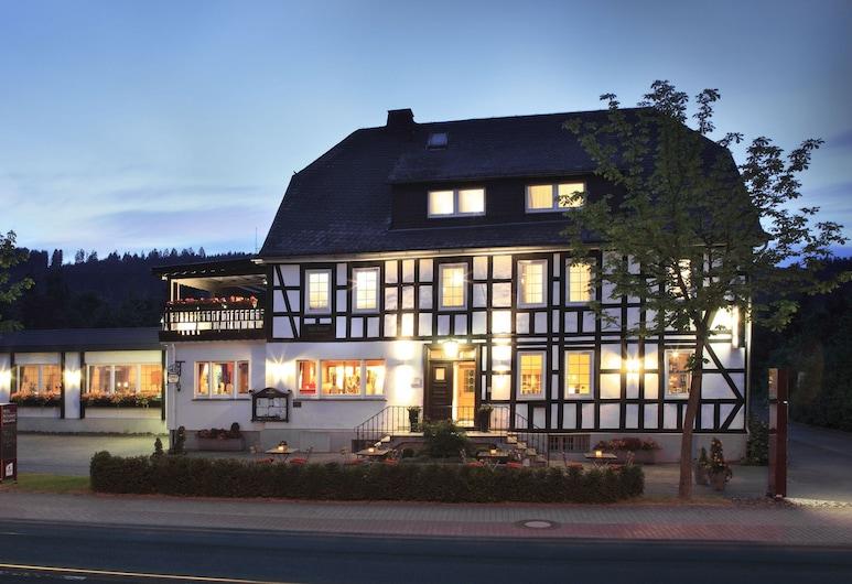 Landgasthof Reinert, Eslohe, Hotel Front – Evening/Night