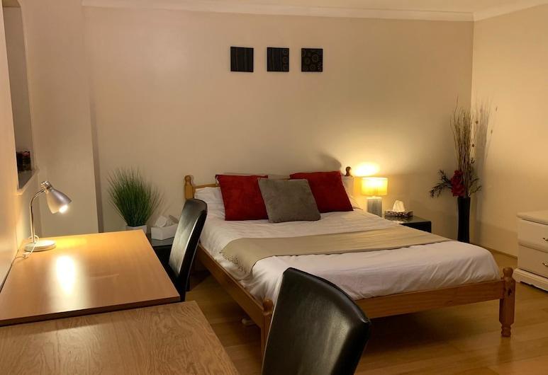 折衷之夜酒店, 倫敦, 行政公寓, 2 張標準雙人床, 非吸煙房, 客房