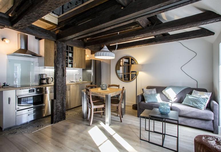 Appartement Ange 2, Colmar, Superior Apart Daire, Sigara İçilmez, Oturma Alanı