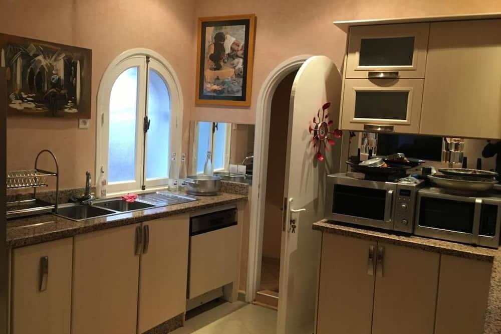 Rodinný apartmán, více lůžek, nekuřácký - Obývací prostor